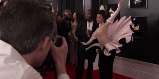 Cardi B and Offset make their reunion official at the 61st Annual Grammy Awards