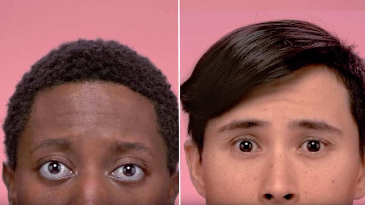 The two Cottonelle commercials, one straight and one gay
