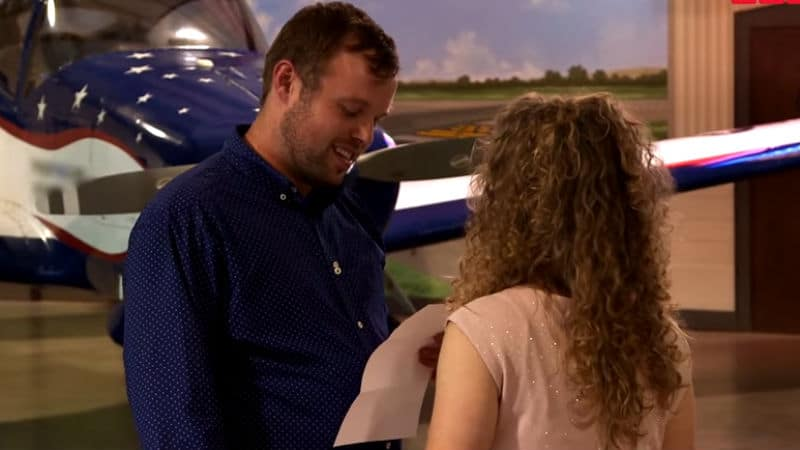 John David Duggar proposes to Abbie on Counting On