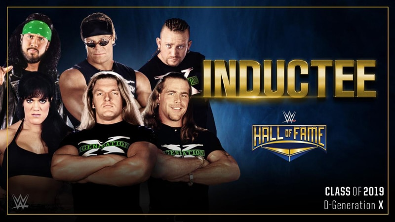 DX in WWE Hall of Fame