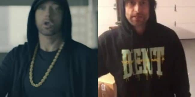 Eminem In The Cypher: See his and Chris D'Elia's footage side by side