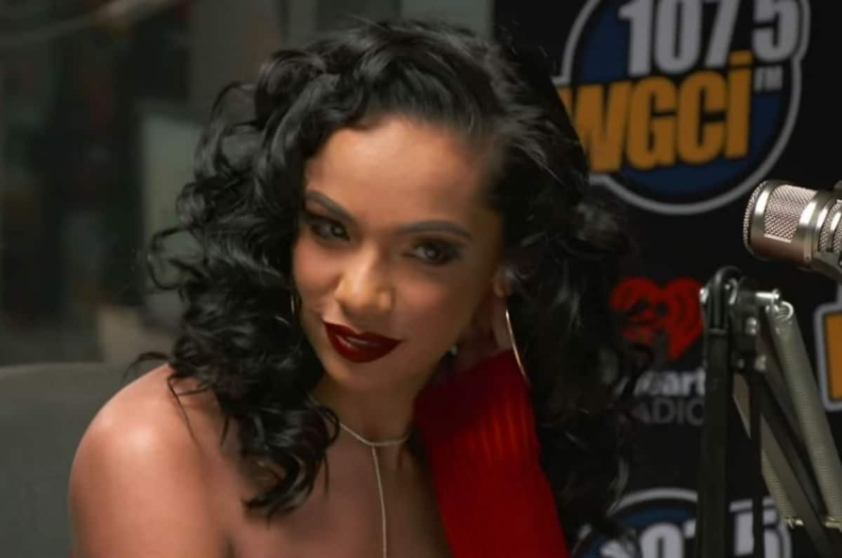 Erica Mena appears on Black Ink Chicago for a tattoo