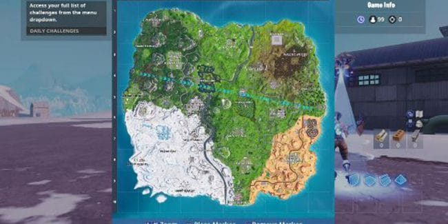 Fortnite map possibly leaked for season 8, revealed by Reddit user