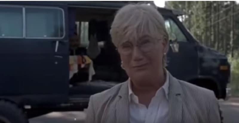 Jayne Atkinson as Georgie on The Walking Dead cast.