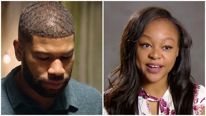 Keith Dewar and Kristine Killingsworth on Married at First Sight