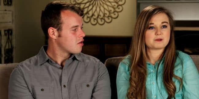 Joseph and Kendra in a Counting On confessional