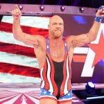 Kurt Angle in the WWE