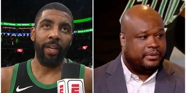 Why is Kyrie Irving not playing? Antoine Walker says Kyrie isn't a 'true Celtic'