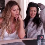Larsa Pippen and Kourtney Kardashian on Keeping Up With The Kardashians