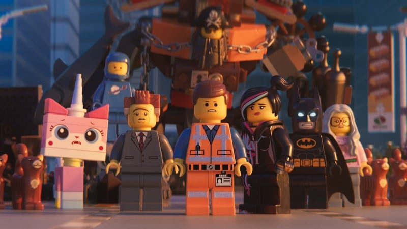 "The cast of ""LEGO Movie 2."""