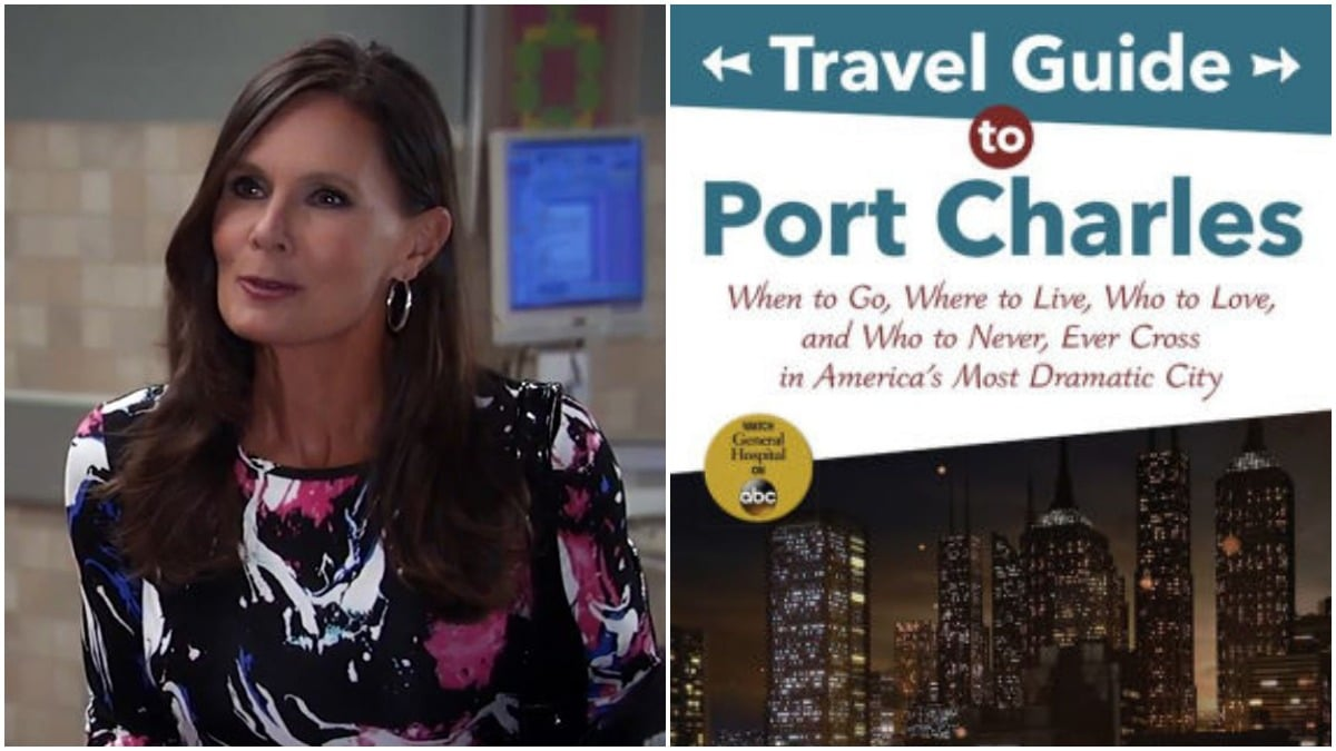 General Hospital book review: Travel Guide to Port Charles: When to Go, Where to Live, Who to Love and Who to Never, Ever Cross in America's Most Dramatic City