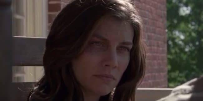 Lauren Cohan as Maggie on The Walking Dead cast