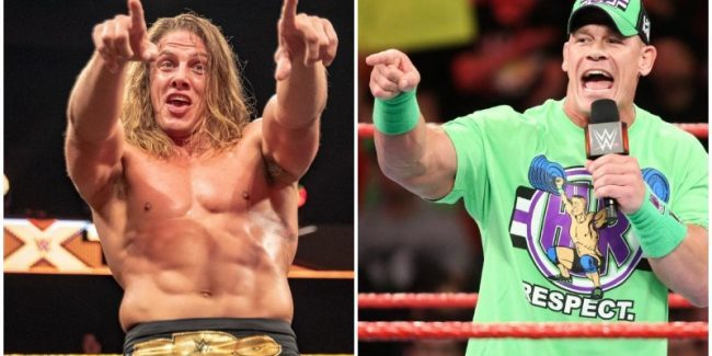 WWE superstar Matt Riddle doesn't want to wrestle John Cena, he wants to fight him