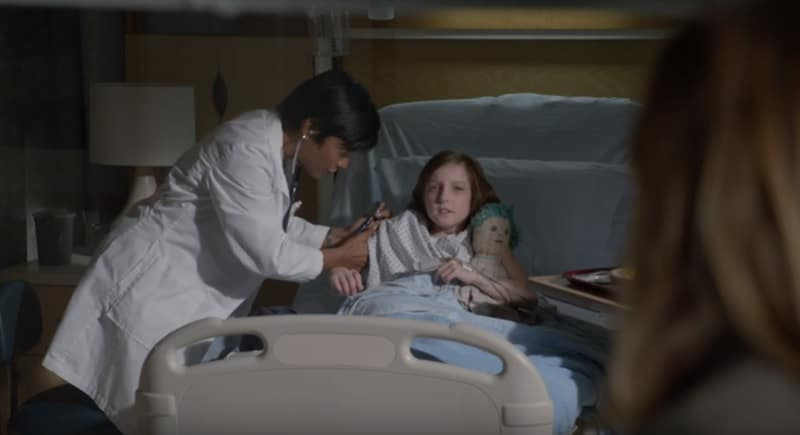 Sunnie Pelant as Lily Burke on NCIS cast