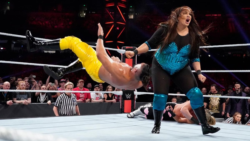 WWE books first intergender match in years