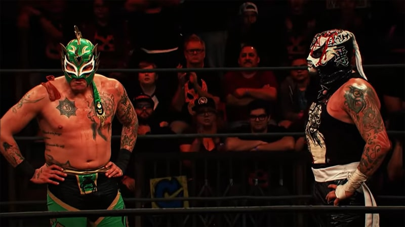 Pentagon and Fenix in Lucha Underground