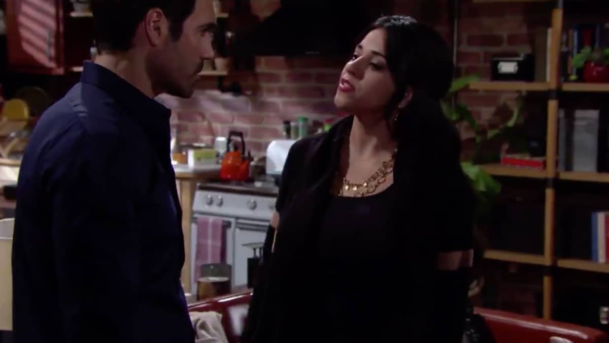 Rey and Mia on The Young and the Restless