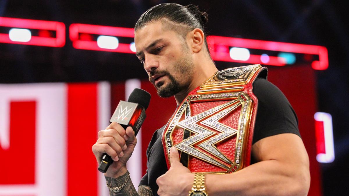Roman Reigns champion