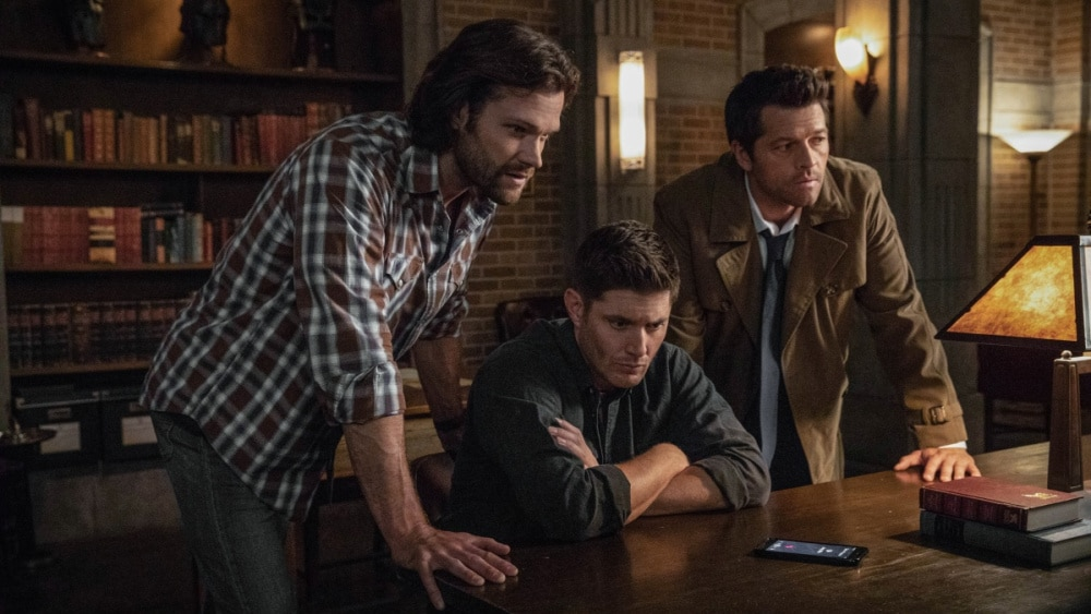Supernatural - Supernatural, Arrow, and others are not on this week. When do they come back?