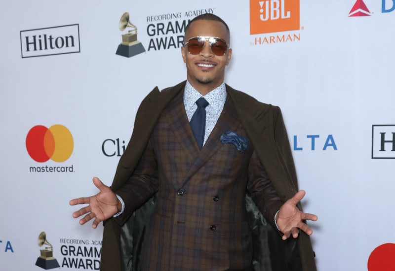 T.I. at The 2018 Pre-GRAMMY Gala and GRAMMY Salute to Industry Icons presented by The Recording Academy.