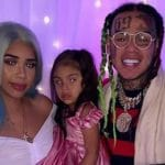 6ix9ine Sara Molina daughter