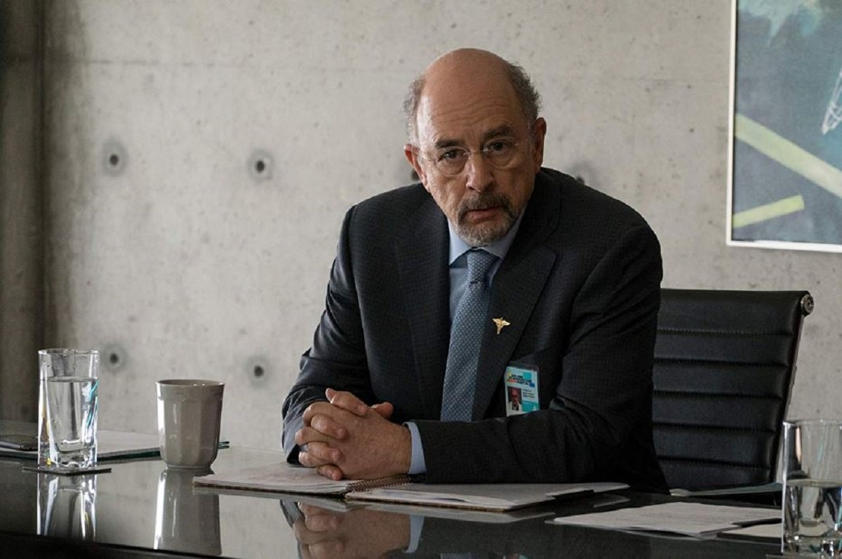 The Good Doctor Richard Schiff as Dr. Aaron Glassman