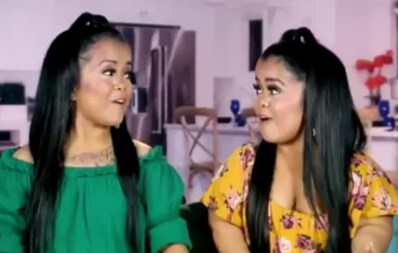 The Tiny Twins, Andrea and Amanda Salinas on Little Women: Dallas