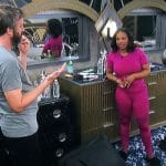 Tom and Kandi in the Celebrity Big Brother house