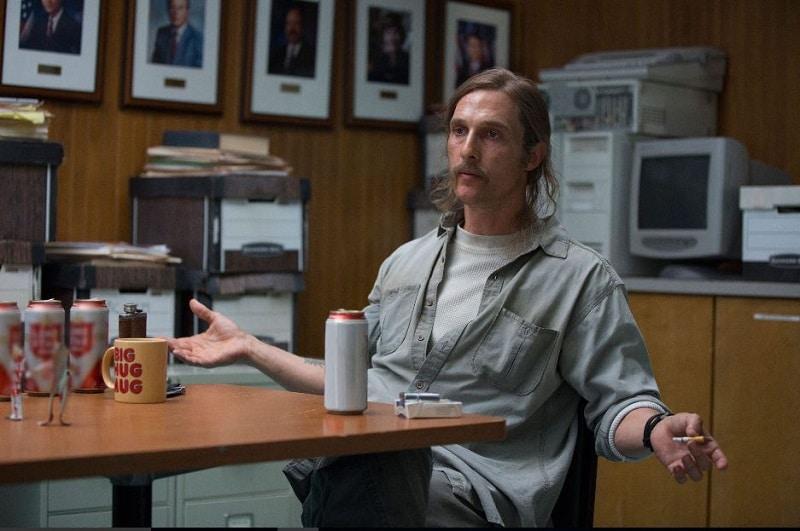 True Detective. Matthew McConaughey