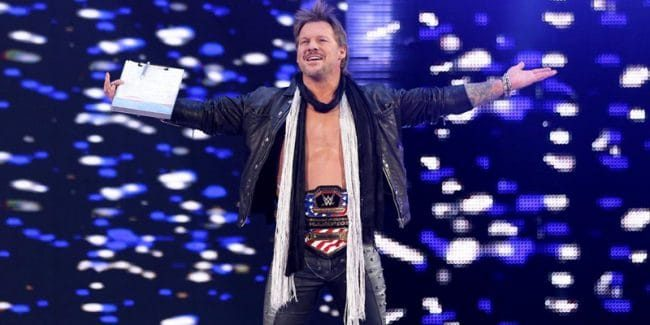 Chris Jericho in the WWE