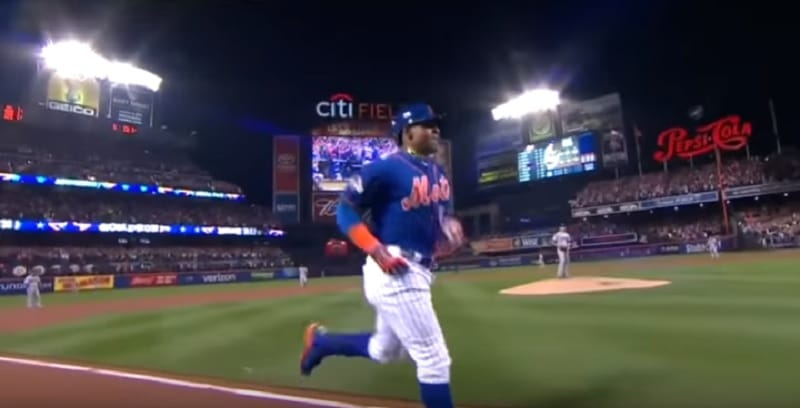 Yoenis Cespedes hits home run for New York Mets