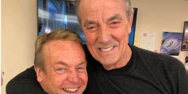 """Doug Davidson is """"back"""" on The Young and the Restless"""