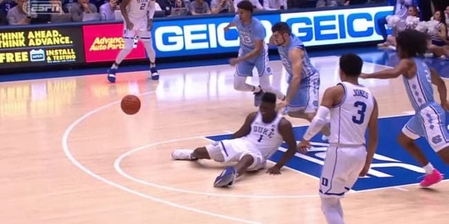 Zion Williamson knee injury and update: Watch his Nike shoe blowout