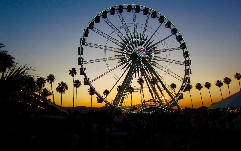 The Coachella Ferris Wheel