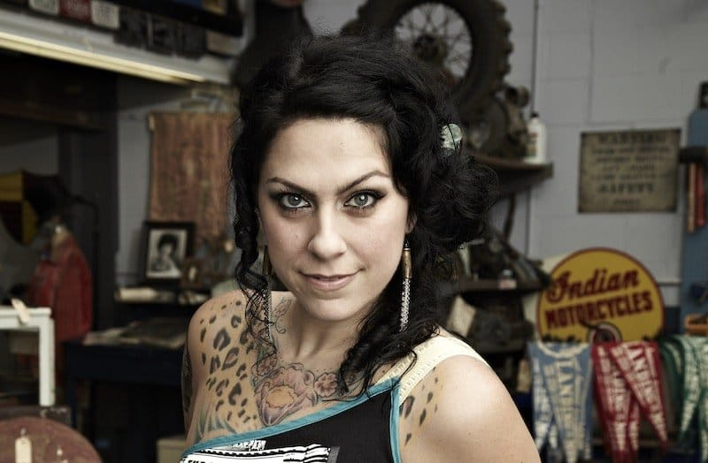 Danielle Colby is a big draw for fans of American Pickers. Pic credit: History/Zachary Maxwell Stertz