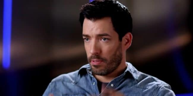 Drew Scott on Dancing with the Stars.