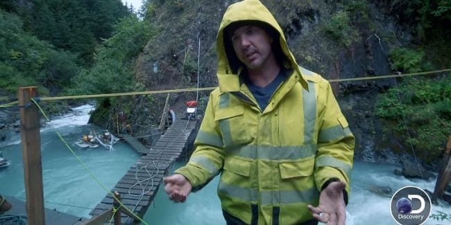 Gold Rush: White Water has Dustin and Rich mining in an underwater death trap - Exclusive