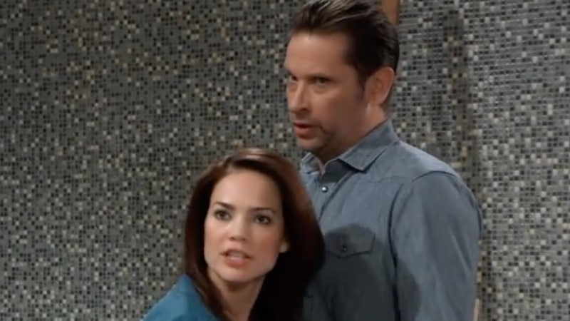 Franco just about to be arrested on General Hospital