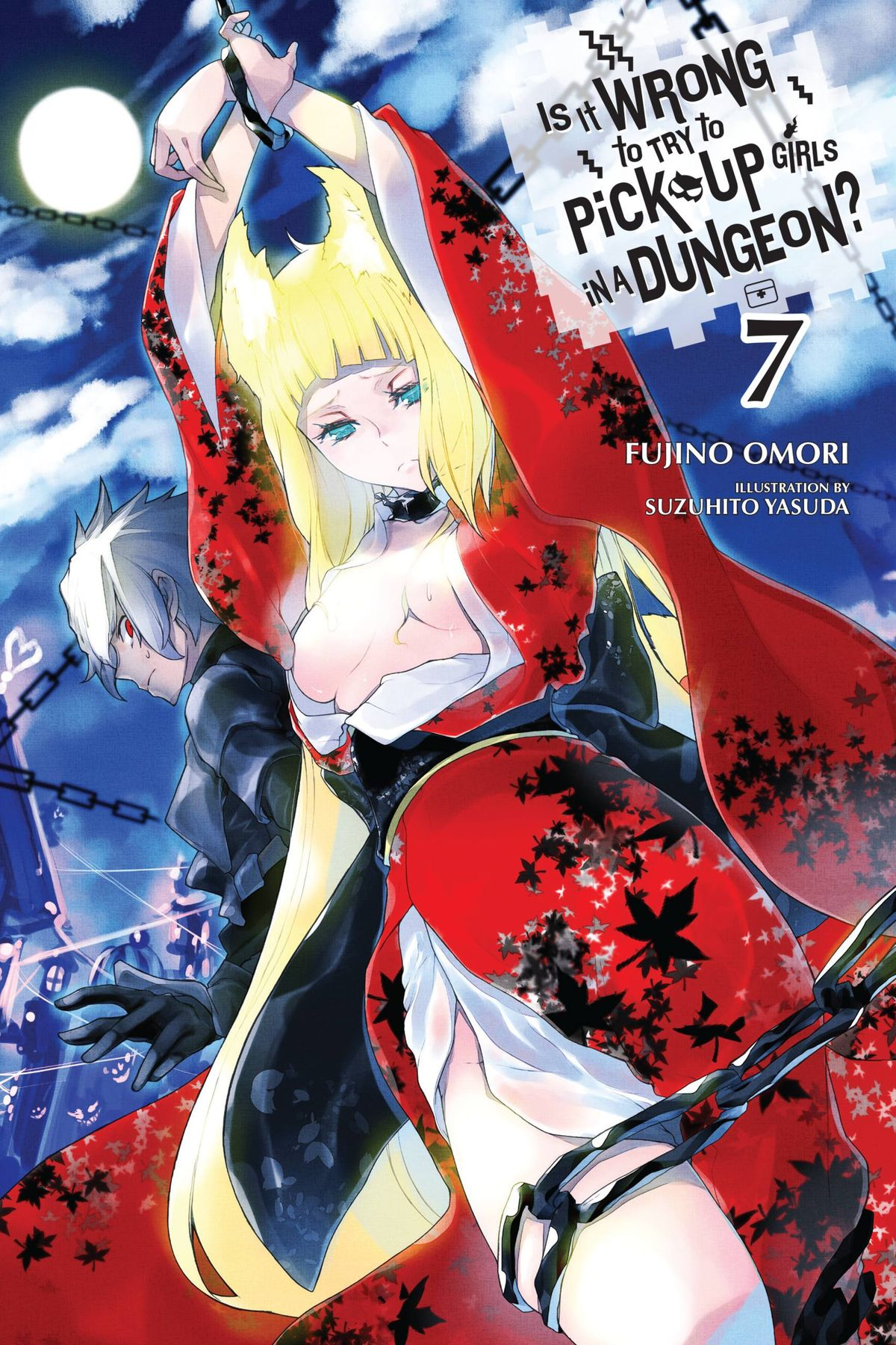 is it wrong to try to pick up girls in a dungeon volume 7 cover art bell Haruhime