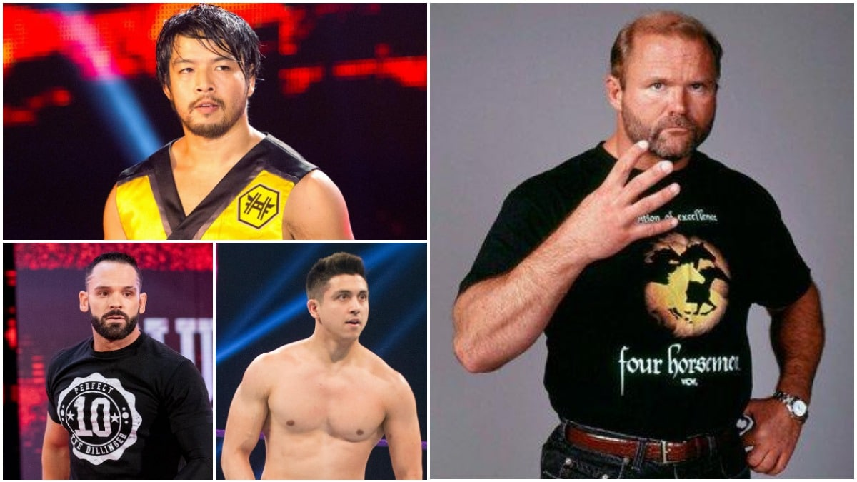 WWE officially releases three wrestlers and a legend from their contracts
