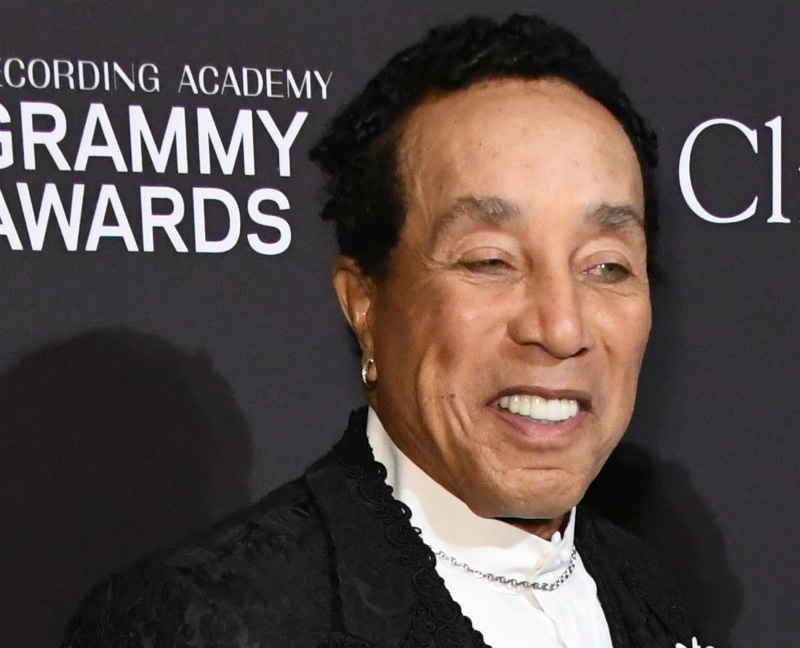 Smokey Robinson at the 61st Annual Grammy Awards