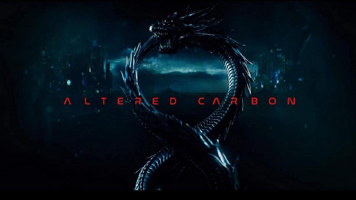 Key art for Altered Carbon