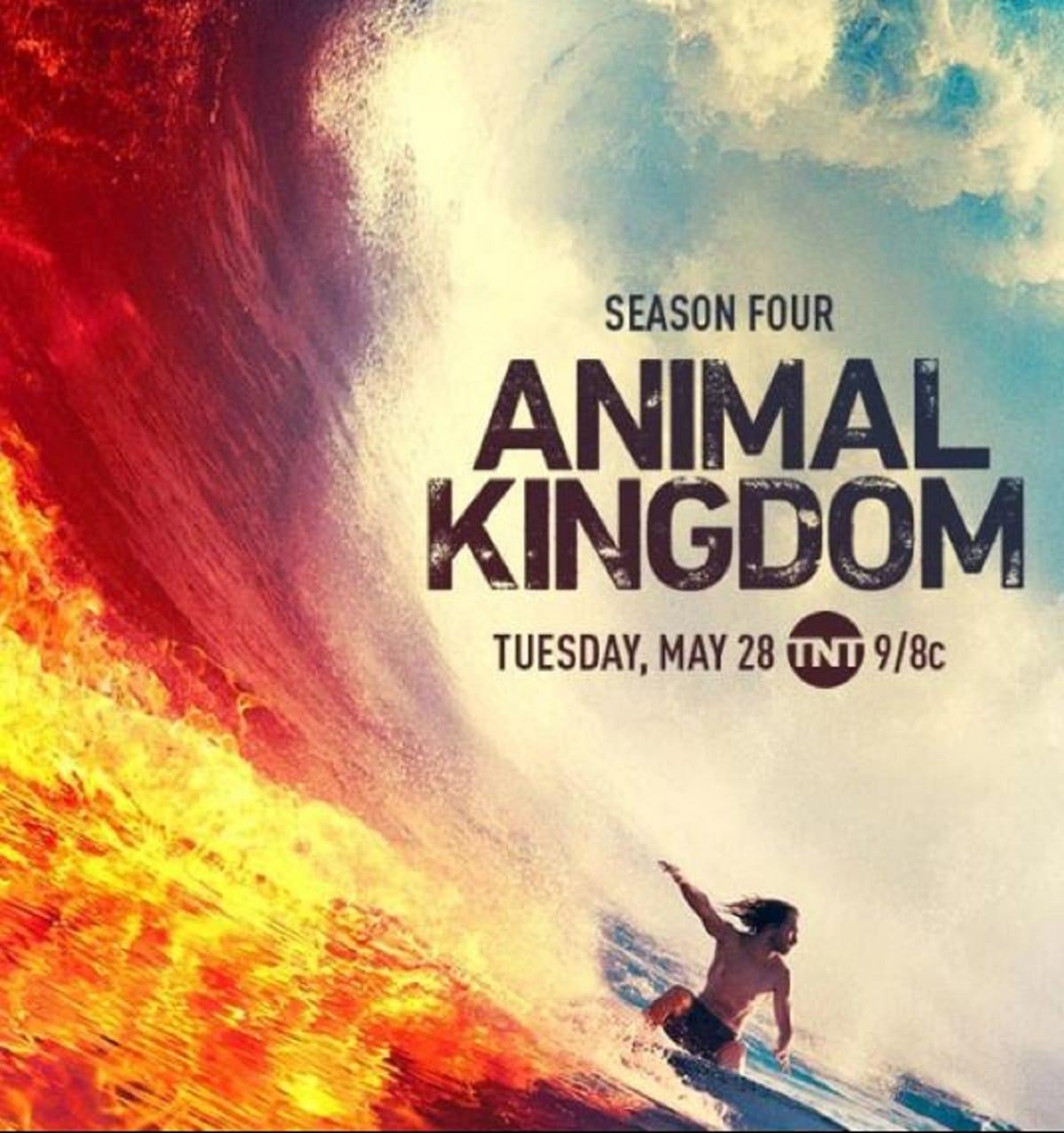 Poster of upcoming season Animal Kingdom Season 4