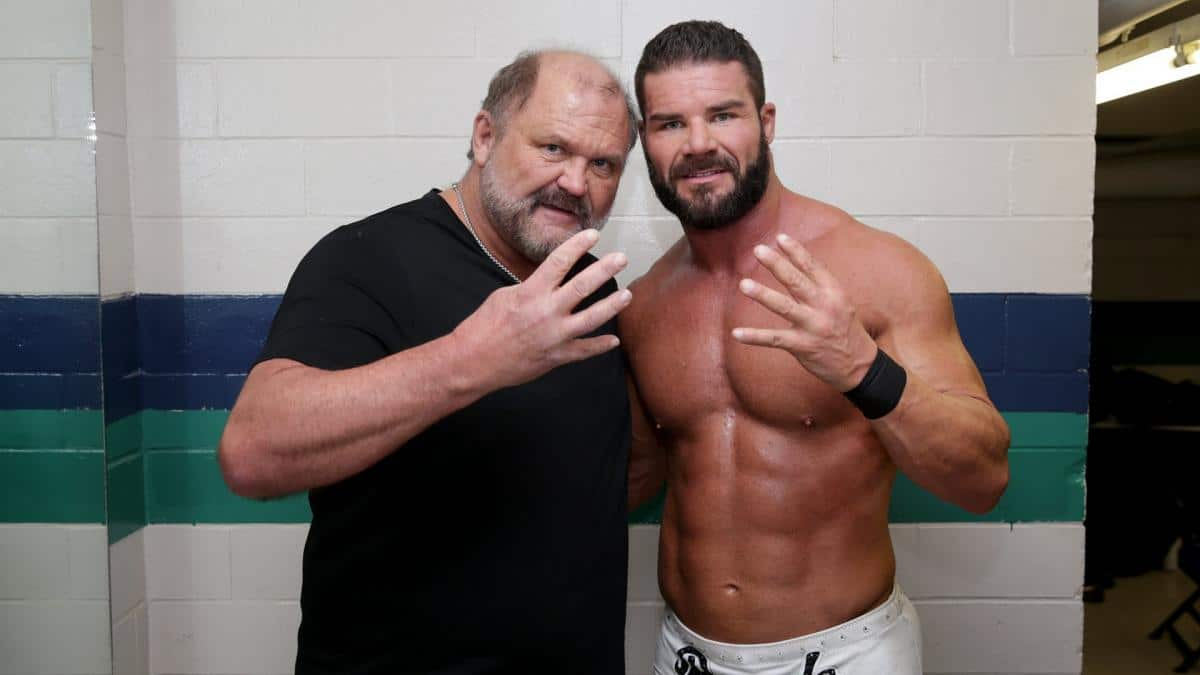 The WWE fired Arn Anderson