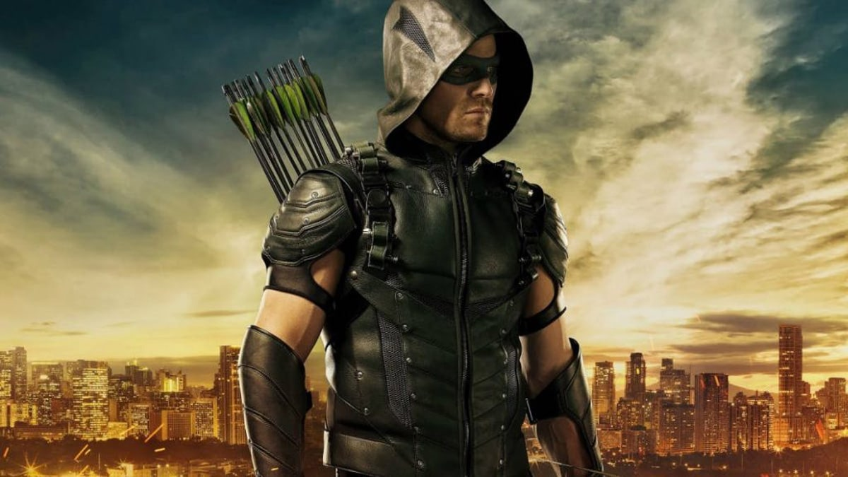 Stephen Amell as Oliver Queen/Green Arrow
