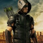 Stephen Amell as Arrow.