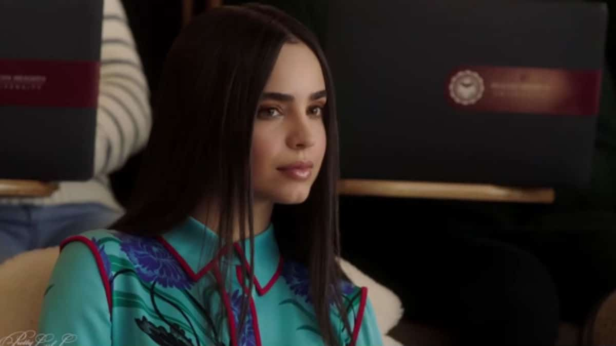 Sofia Carson as Ava Jalali in Pretty Little Liars: The Perfectionists
