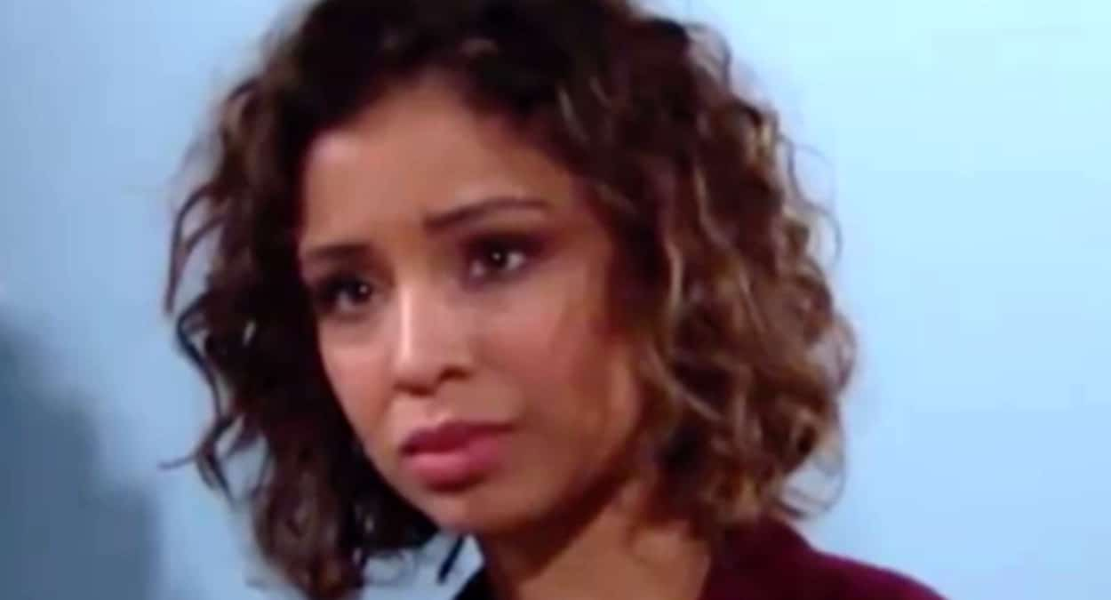 Brytni Sarpy on The Young and the Restless