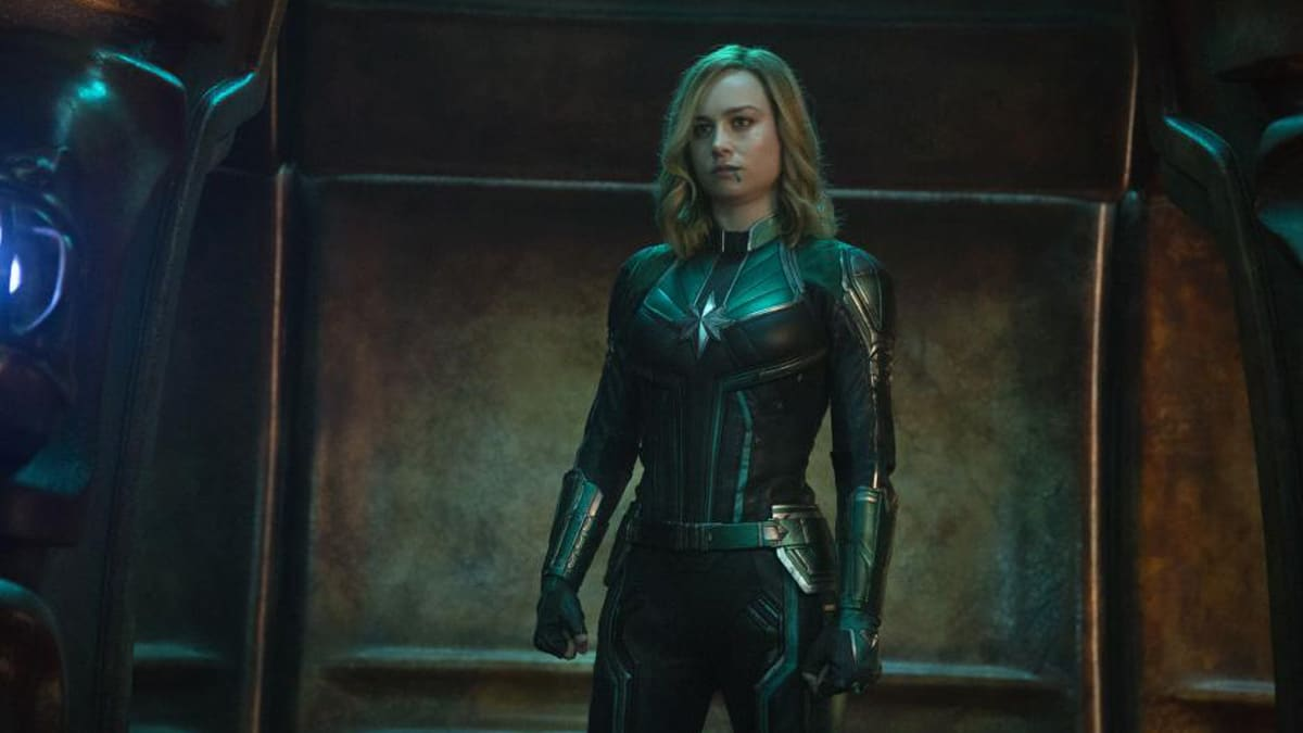 How many end credit scenes are there in Captain Marvel?