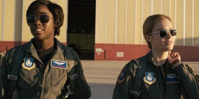 Brie Larson and Lashana Lynch are the heart of Captain Marvel